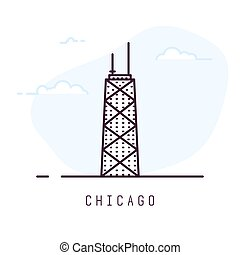 Chicago line style