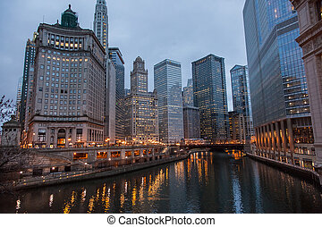 Chicago Loop is one of 77 officially designated community...