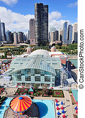 chicago, miasto, śródmieście