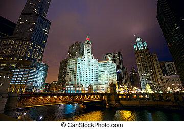 chicago, noche