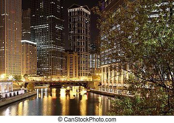 chicago, nuit