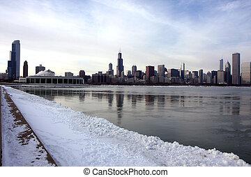Chicago panoramic view