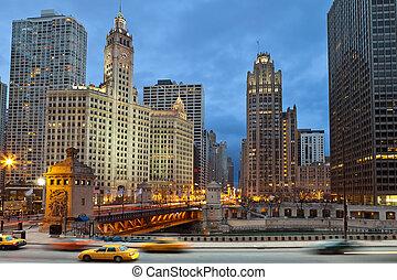 chicago, riverside