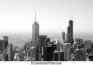 chicago, skyline