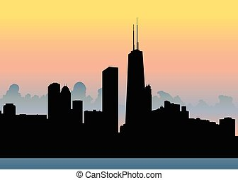 Chicago Skyline