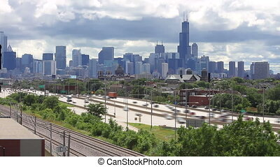 Chicago Skyline Time Lapse