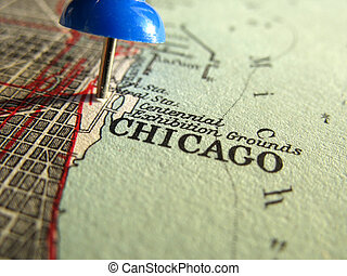 Chicago - The way we looked at Chicago in 1949.