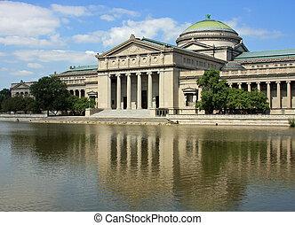 chicago\'s, museum van wetenschap en industrie
