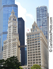 Chicago's Wrigley Building, Illinois