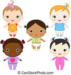 chicas bebé