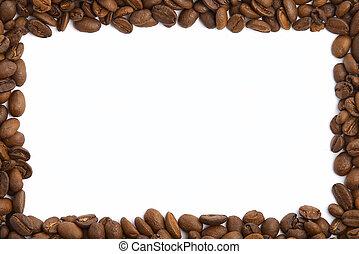 chicco di caffè, cornice