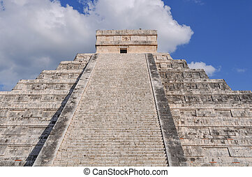 Chichen Itza Mayan Ruin in Mexico