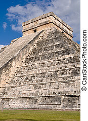 Chichen Itza Mayan Temple in Mexico