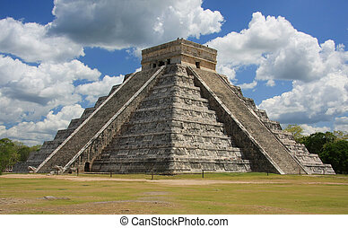 Chichen Itza one of the seven wonders of the world.