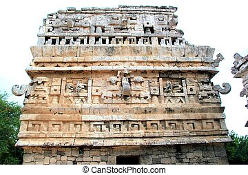 Chichen Itza The Church Mayan temple Mexico Yucatan