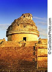 chichen, observatorio, itza