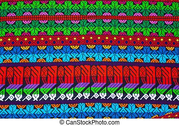 chichicastenango, filt, mayan, prydnad, guatemala, marknaden
