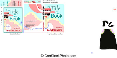 Chick Lit- Book COVER Design - Eye-catching Book Cover...