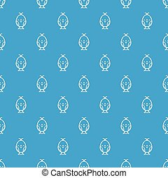 Chick pattern vector seamless blue
