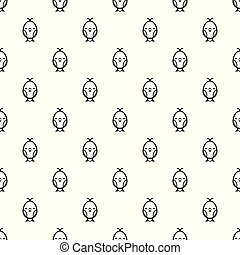 Chick pattern vector seamless