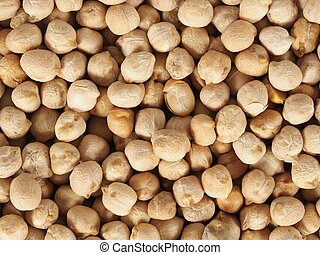 Chick pea beans, can be used as a background