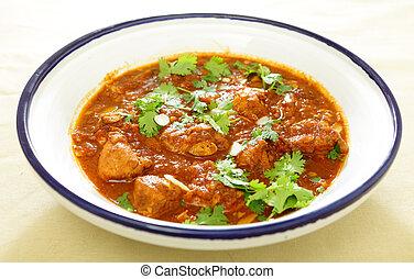 Chicken and tomato tagine stew - A Moroccan chicken tagine ...