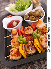 chicken barbecue kebab