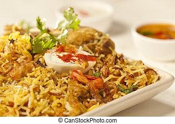 Chicken Biryani - Chicken biryani is an dish based on...