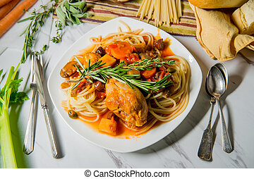 Chicken Cacciatore Hunter's Stew