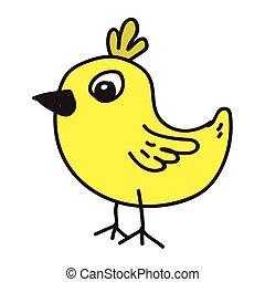 chicken cartoon icon
