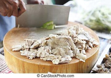 Chicken chopped