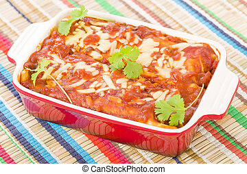 Chicken & Chorizo Enchiladas