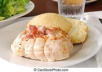 Chicken cordon bleu - Chicken stuffed with ham and cheese ...