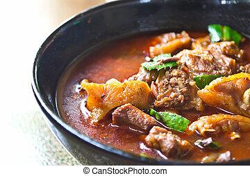 Chicken Curry, Thai food