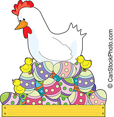 Chicken Easter Eggs