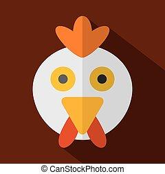 Chicken Icon.