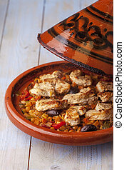chicken in a tajine