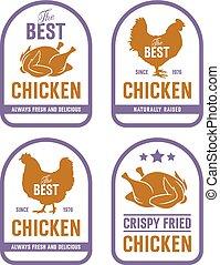 Chicken label 002