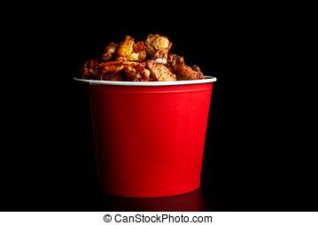 Chicken legs in a bucket-2