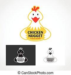 Chicken Logo Symbol.
