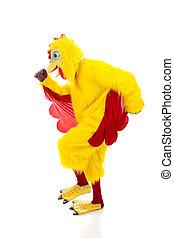 Chicken Man Getaway