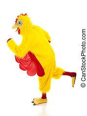 Chicken Man - Running