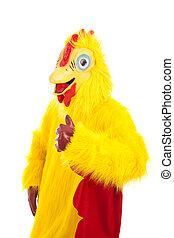Chicken Man Thumbs Up