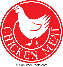 chicken meat label