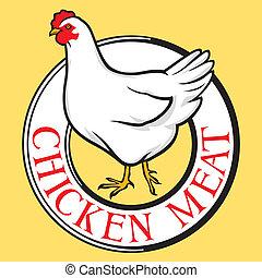 chicken meat label
