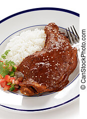 chicken mole