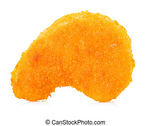 chicken nugget isolated