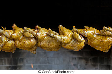 Chicken on barbique