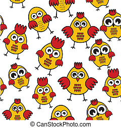 Chicken pattern