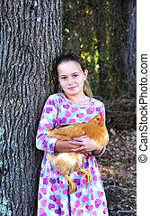 Chicken Pet for Little Girl